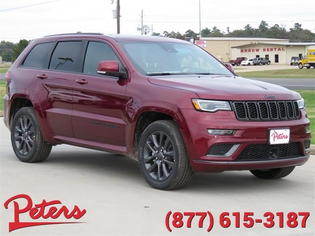 new 2018 jeep grand cherokee high altitude suv in longview 8d108 peters chevrolet chrysler. Black Bedroom Furniture Sets. Home Design Ideas