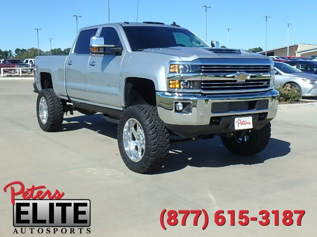 pre owned 2017 chevrolet silverado 2500hd ltz crew cab in longview 7c1216a peters chevrolet. Black Bedroom Furniture Sets. Home Design Ideas