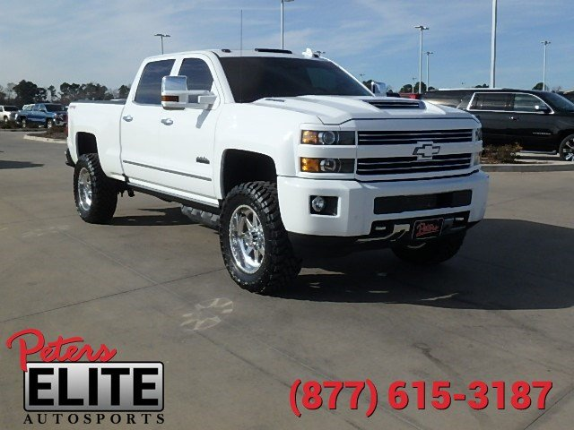 pre owned 2017 chevrolet silverado 2500hd high country crew cab in longview a3431 peters. Black Bedroom Furniture Sets. Home Design Ideas